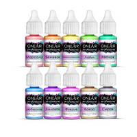 Базовые краски для аэрографии на ногтях OneAir Professional,10ml