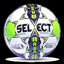 М'яч для футзалу юніорський SELECT FUTSAL TALENTO 11 106143 розмір 52,5-54,5 см
