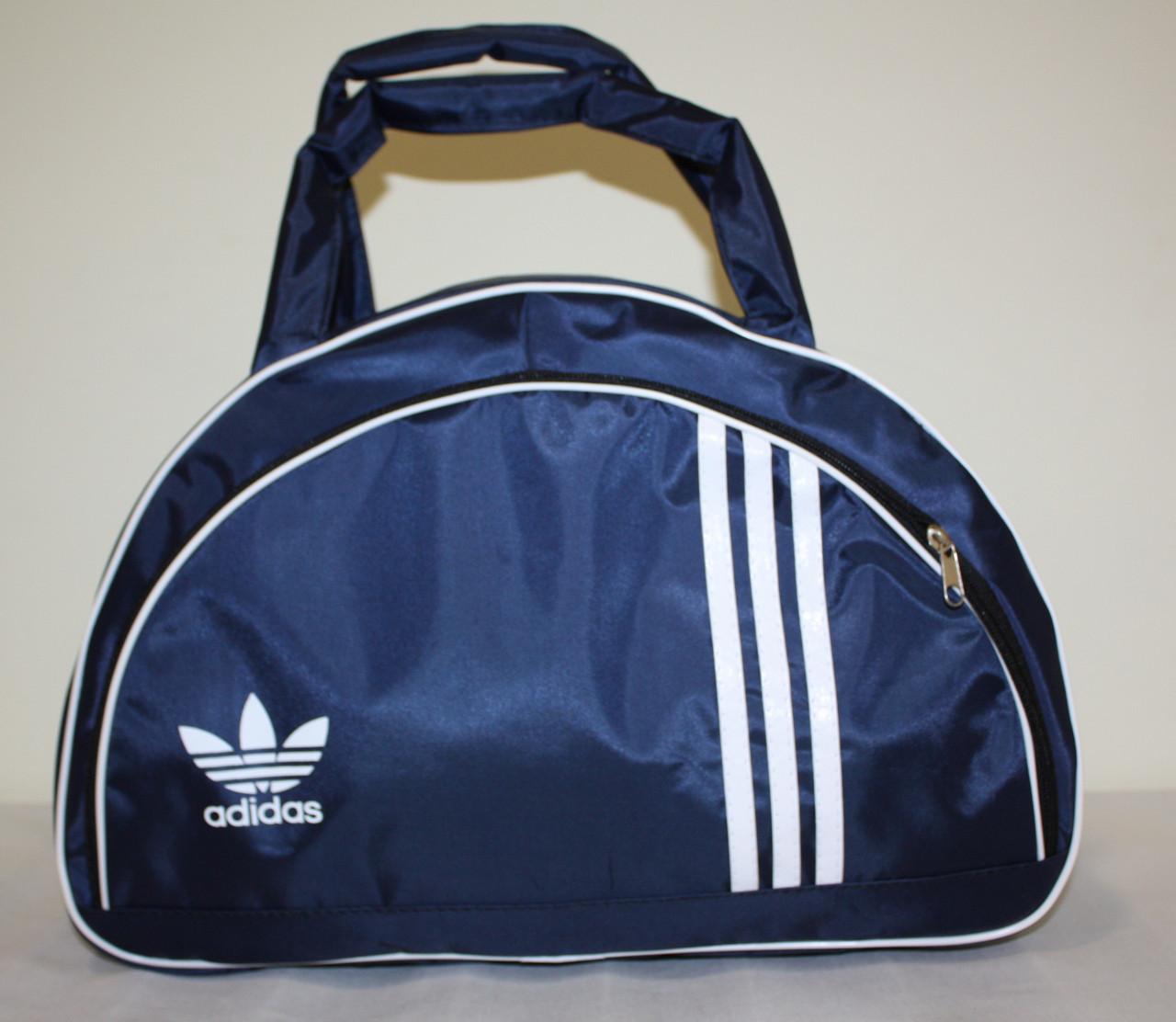Сумка adidas копия унисекс для тренировки темно синяя