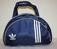Сумка adidas копия унисекс для тренировки темно синяя , фото 1
