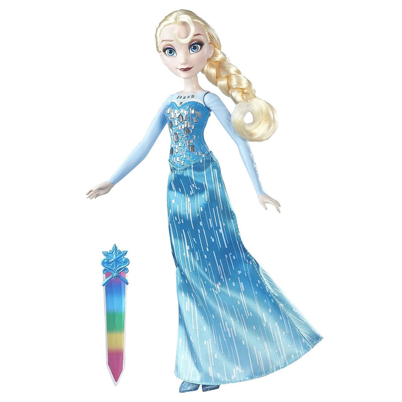 """Кукла Эльза """"Волшебное сияние"""" Disney Frozen Crystal Glow Elsa"""