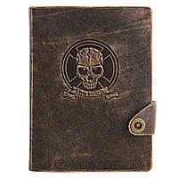 Кожаный ежедневник «Оптимус» только для стильных и креативных личностей!