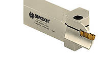 Канавочный резец 2525 BDKT A I4C (Ø24X36) t max:22 отрезная державка для наружного точения SMOXH
