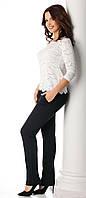 Женские классические брюки темно-синего цвета Zama Top-Bis, коллекция осень-зима 2017-2018