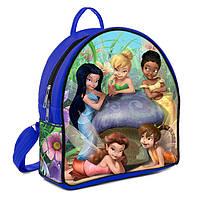 Синий детский рюкзак с принтом Феи Диснея и Динь Динь