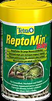 Корм Tetra ReptoMin Baby для молодых черепах в гранулах, 100 мл, фото 1