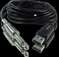 Гитарный цифровой кабель Behringer GUITAR 2 USB