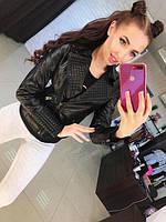 "Короткая куртка из эко кожи ""Zara"", фото 1"