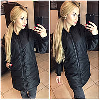 Женская куртка (S-M, M-L) — плащевка синтепон 150 купить оптом и в розницу в одессе  7км