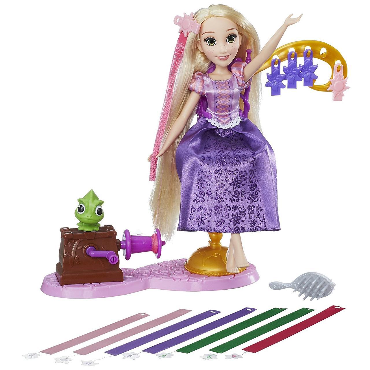 """Кукла Рапунцель набор """"Королевский салон""""  Disney Princess Rapunzel's Salon"""