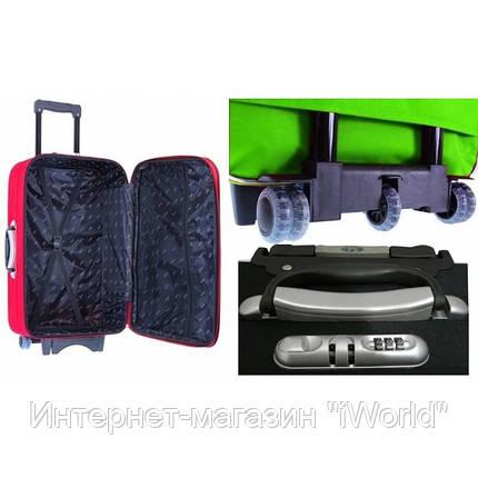 Дорожный чемодан на 5-х колесах (большой) RGL 773 черного цвета, фото 2