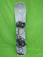 Сноуборд Atomic 140 см + кріплення atomic