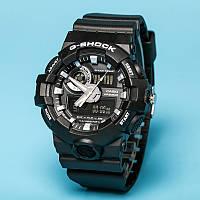 Тренд 2017! Стильные  часы Casio  G-Shock GA-700 BLACK WHITE  (касио джи шок)