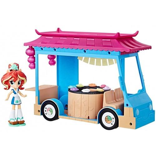 Кафе-автобус для суши Сансет Шимер (Sunset Shimmer) C1840