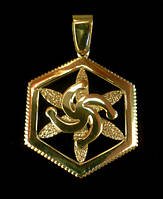 Символ Рода в Звезде Перуна