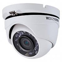 Купольная AHD HD камера уличная мультиформатная Hikvision DS-2CE56D0T-IRMF, 2Мп