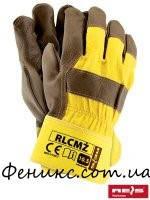 Перчатки защитные, усиленные кожей RLCMZ-10,5