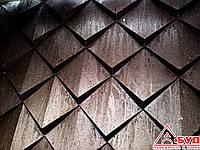 Монтаж кровельной шашки,чешуи из меди и металла