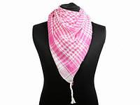Арафатка арабский платок розовый