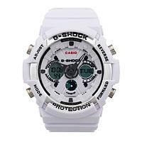 Яркие,  Стильные  часы Casio  G-Shock GA-200RG WHITE  (касио джи шок)
