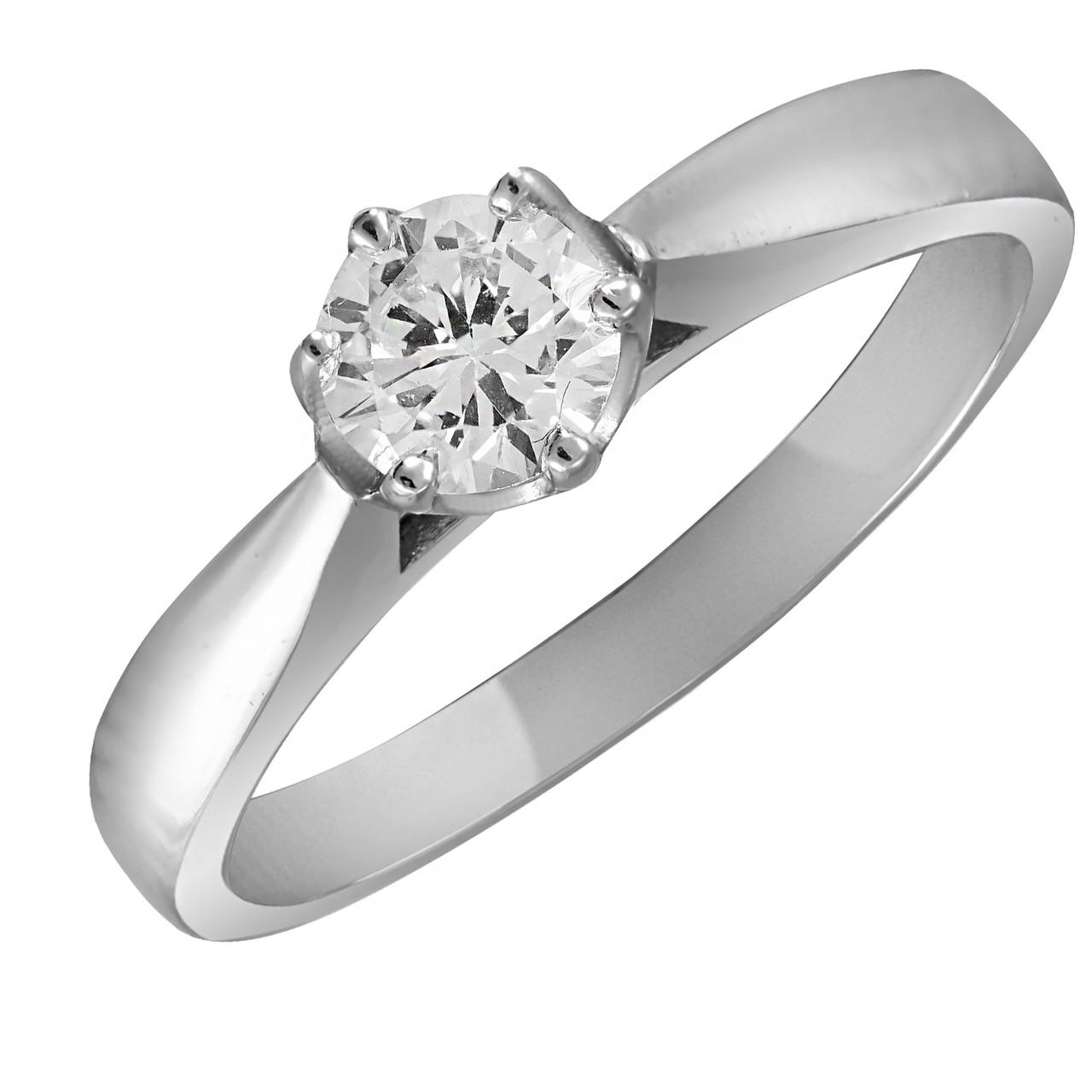 Кольцо из серебра с куб. циркониями 174775,
