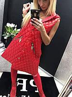 """Модная жилетка """"Турбо"""" (2 цвета) до 56 размера"""