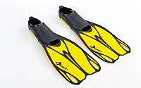 Ласты для плавания DORFIN 436 (р. 38-39, желтые)