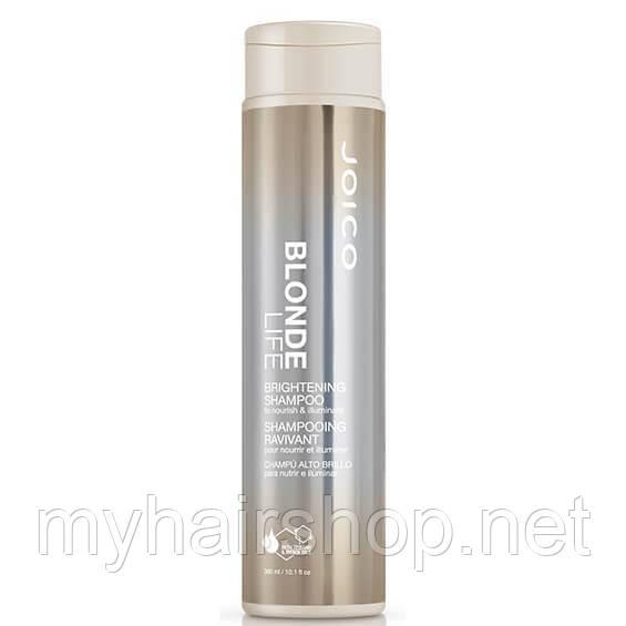 Шампунь для збереження яскравості блонда JOICO Blonde Life Brightening Shampoo 300 мл