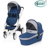 4 Baby коляска Cosmo Duo 2в1 (Navy Blue)