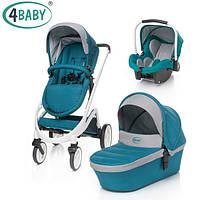 4 Baby коляска Cosmo Trio 3в1 (Dark Turkus)