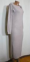 Модное повседневное женское длинное платье