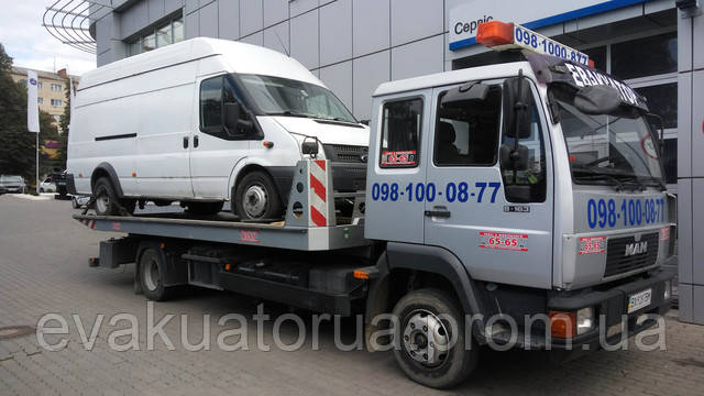 Ford tranzit доставка по місту
