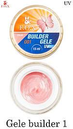 Моделирующий гель-желе F.O.X Gele builder gel UV