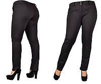 Тёплые женские брюки больших размеров.