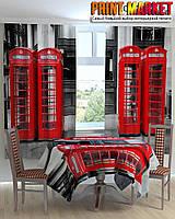 Фотошторы для кухни телефонные будки