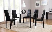 Комплект для кухни: стол и 4 стулья НОВЫЙ в наличии ПОЛЬША наложка