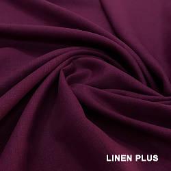 Фиолетовая льняная ткань 100% лен., цвет 910