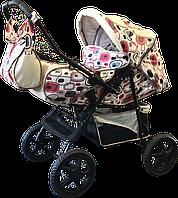 Детская коляска-трансформер Trans Baby Dolphin crem/CuH