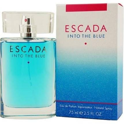 Escada Into The Blue парфюмированная вода 75 ml. (Эскада Инто Зе Блю), фото 2
