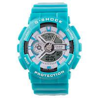 Стильные унисекс часы Casio G-SHOCK GA-110 COLORED  (касио джи шок)