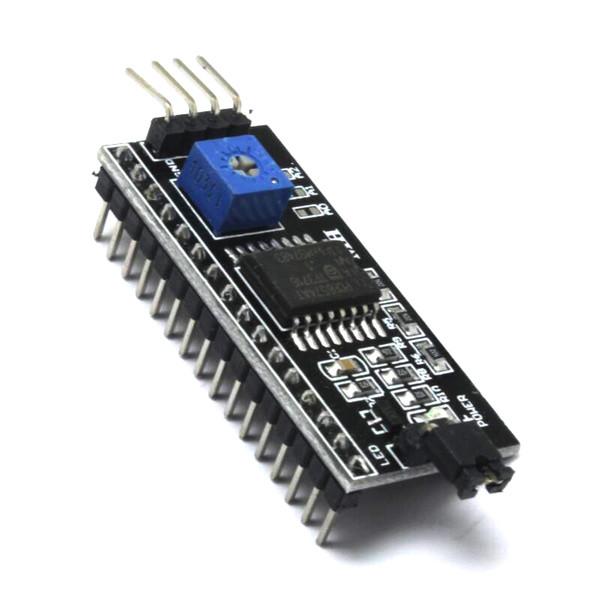 Модуль I2C для подключения LCD1602/2004 дисплея Arduino - Radio Store в Днепре