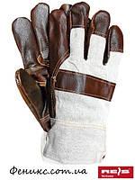 Перчатки защитные кожаные усиленные RL-10,5