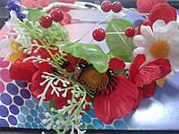 Український вінок з квітів