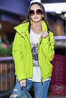 Куртка демисезонная Бархат, (6цв) демисезонная женская куртка, короткая куртка осень, весна, фото 1