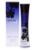 Giorgio Armani Code Women парфюмированная вода 75 ml. (Армани Код Вумен), фото 1