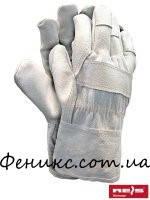 Перчатки защитные усиленные кожей RLCJ-10,5