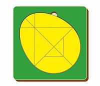 Головоломка «Колумбово яйцо», размер 140*140 мм, арт. 083205