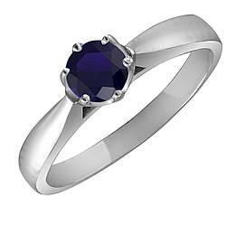 Кольцо из серебра с куб. циркониями 182596,