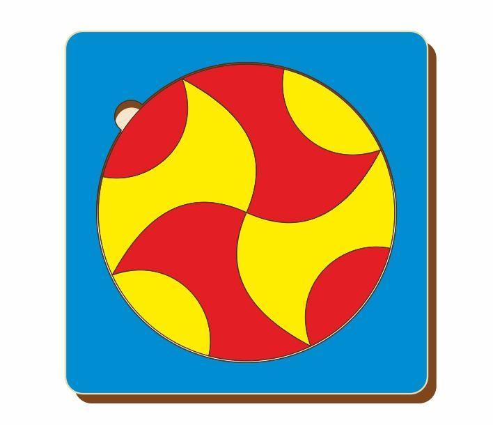 Головоломка «Чудесный круг», размер 140*140 мм, арт. 083201