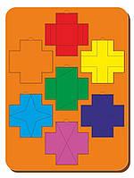 Головоломка «Чудо крестики», ур.3, размер 240*300 мм, арт. 083103
